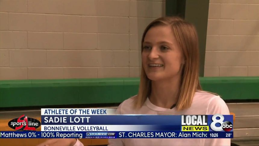 Athlete of the Week- Sadie Lott, Bonneville volleyball
