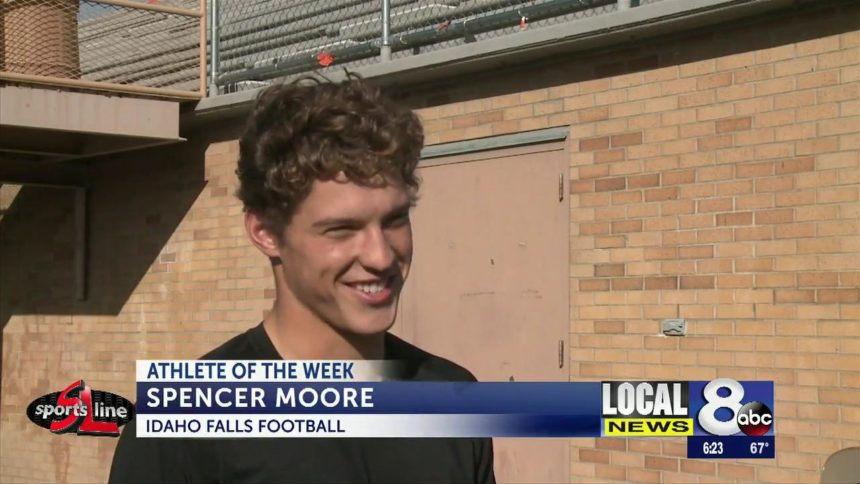 Athlete of the week- Spencer Moore, Idaho Falls football