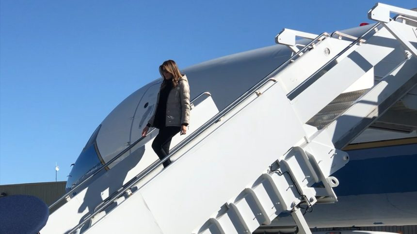 First Lady Melania Trump visit2_1570128657061.png_39474747_ver1.0_1280_720