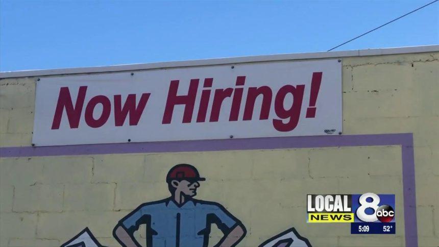 Now hiring logo