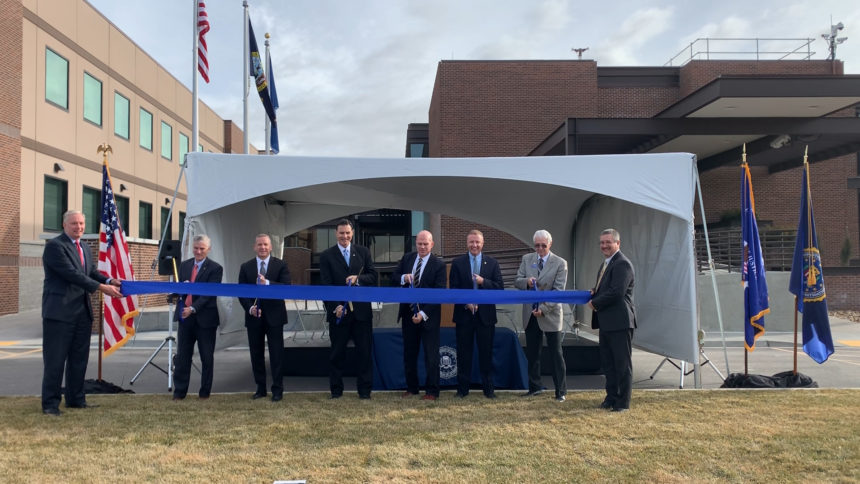 fbi data center ribbon cutting